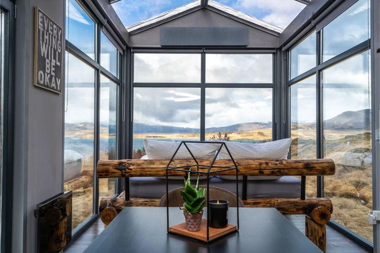 панорамное остекление дома